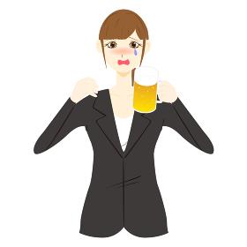 お酒に酔う 泣き上戸 女性