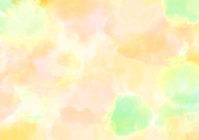 水彩調 アブストラクト背景 ビタミンカラー