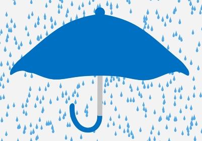 大雨をイメージさせる天気アイコン