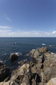 出雲日御碕からの日本海