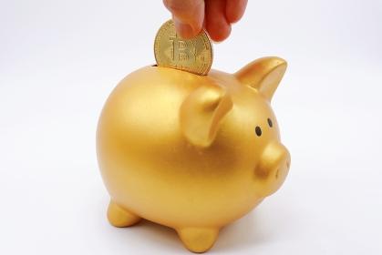 仮想通貨(Bitcoin)と豚の貯金箱