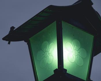 太宰府天満宮の街灯