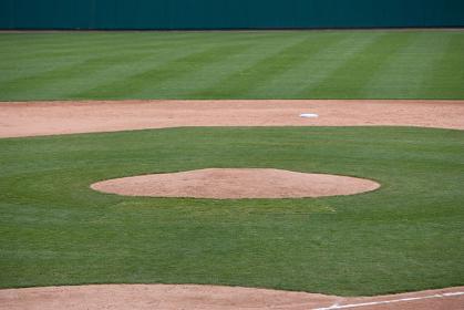 野球 ピッチャーマウンド