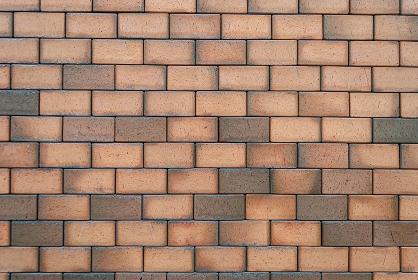 Brick wall texture, horizontal background