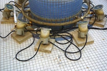 老朽化した照明器具