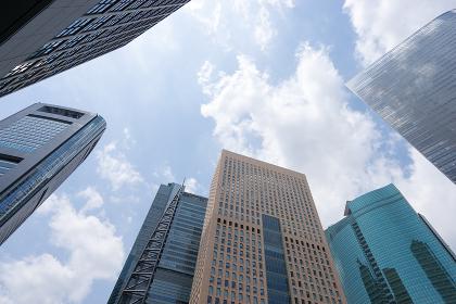 大都市のビジネス街