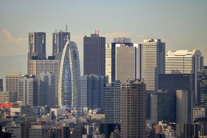 新宿副都心の遠景