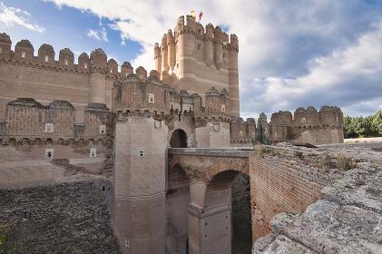 Coca Castle (Castillo de Coca) located in the province of Segovia