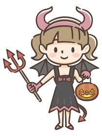 ハロウィン 小悪魔