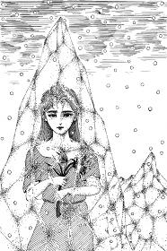 氷の中の少女