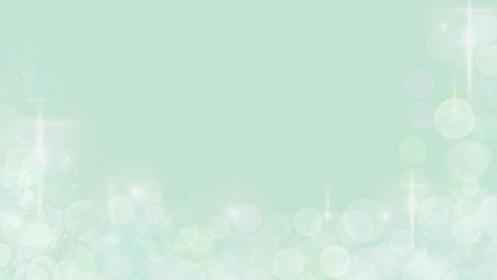 キラキラのグリーンの背景イラスト