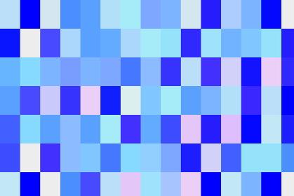 ピクセル状デジタルイメージのモザイク模様