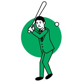 スポーツ 男性 野球・ソフトボール
