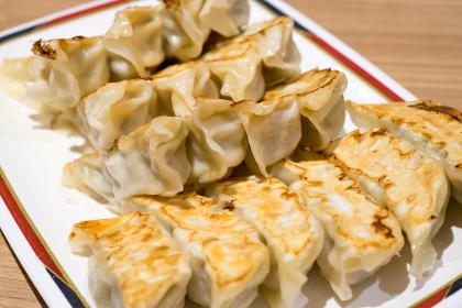 焼き餃子(食べ物・宇都宮名物・料理)