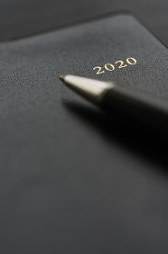 ペンと手帳2020