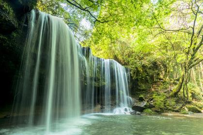 小国町の鍋が滝