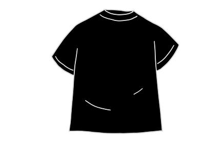 モノクロ素材、トレーニングウェア、シャツ