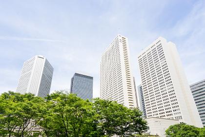 都会のビジネス街のイメージ