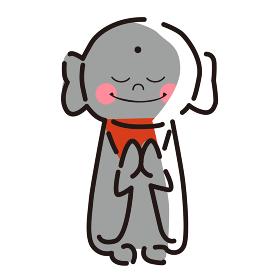 日本文化素材 / 縁起物地蔵