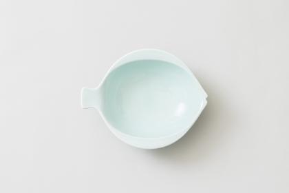魚の形の小皿(水色)