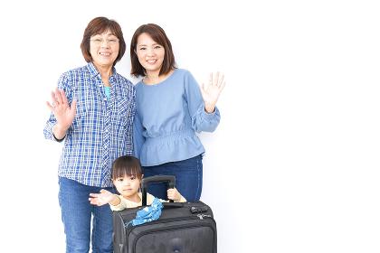 子供・母・おばあちゃんと一緒に旅行