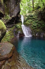おしらじの滝、栃木県