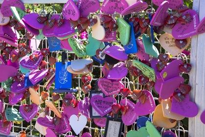 グアム島の恋人岬の鍵