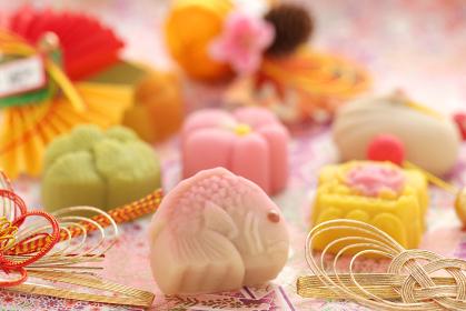 日本の伝統のお祝い事や引き出物のお菓子