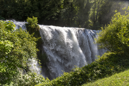 marmore waterfall the highest in europe