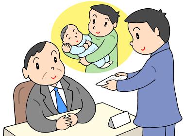 育児休業取得の申請