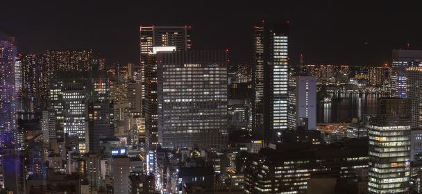 東京タワーよりの夜景 パノラマ