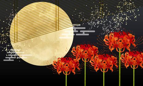 十五夜お月様とすすき