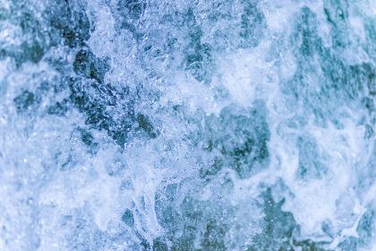 グラフィック素材・水(青色)
