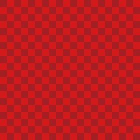 市松模様 赤×赤 S