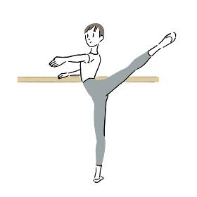 Man dancing ballet 1