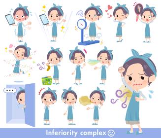hairband apron mom_complex