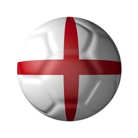 イングランドのサッカーボール型国旗