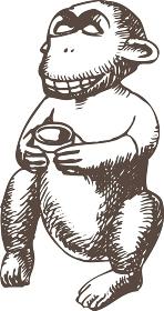 猿の農業神