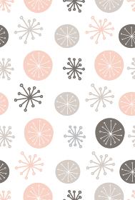 北欧風の抽象的なシームレスパターン