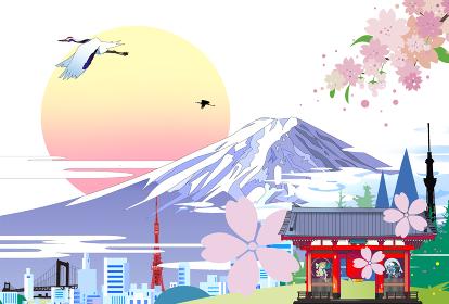 日本の風景インバウンド