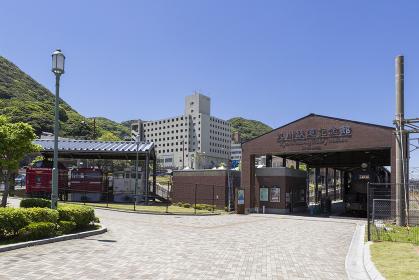 門司港レトロ地区 九州鉄道記念館