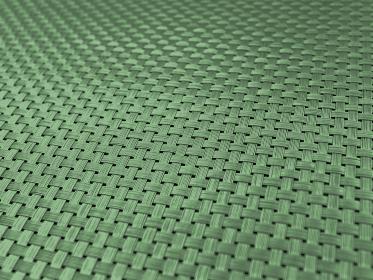 編み込みテクスチャ あおり緑 1449