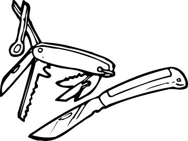 登山ナイフ