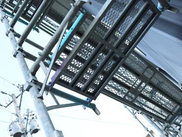 工事現場 建築現場 足場のイメージ 03