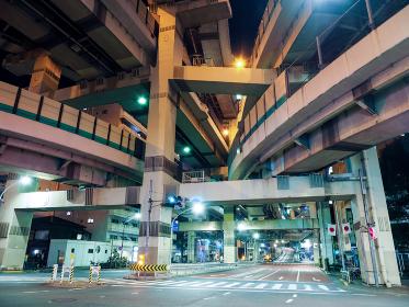 箱崎ジャンクション 夜景