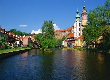 チェコ チェスキークルムロフ城