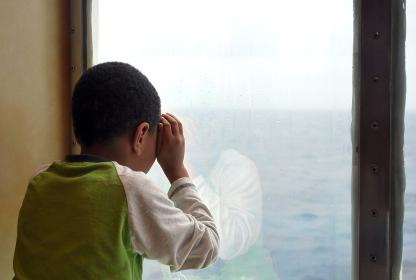 アフリカ 海 子ども