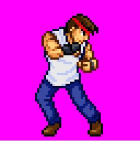 Tシャツ男性格闘家01