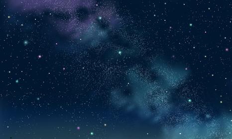 星空,七夕,天の川