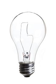 クリアーガラス電球